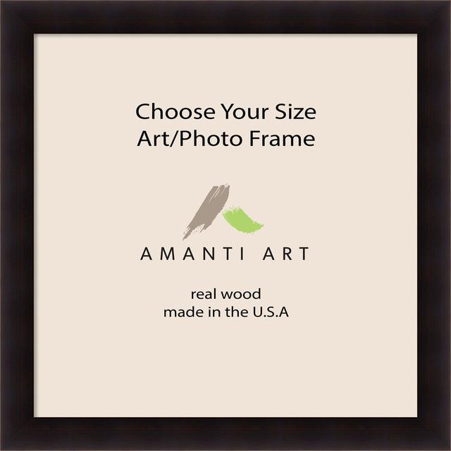 Art Photo Frame Portico Espresso 35x35 To 35x47 Contemporary