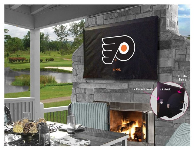 """Philadelphia Flyers TV Cover for TV Sizes 60""""-65"""" by Covers by HBS"""
