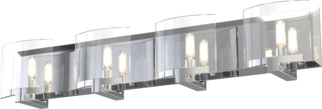 Pickford Vanity Light, Chrome