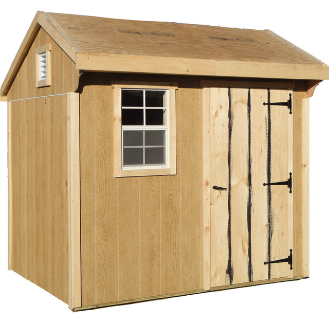 6x8 Garden Shed Building Kit