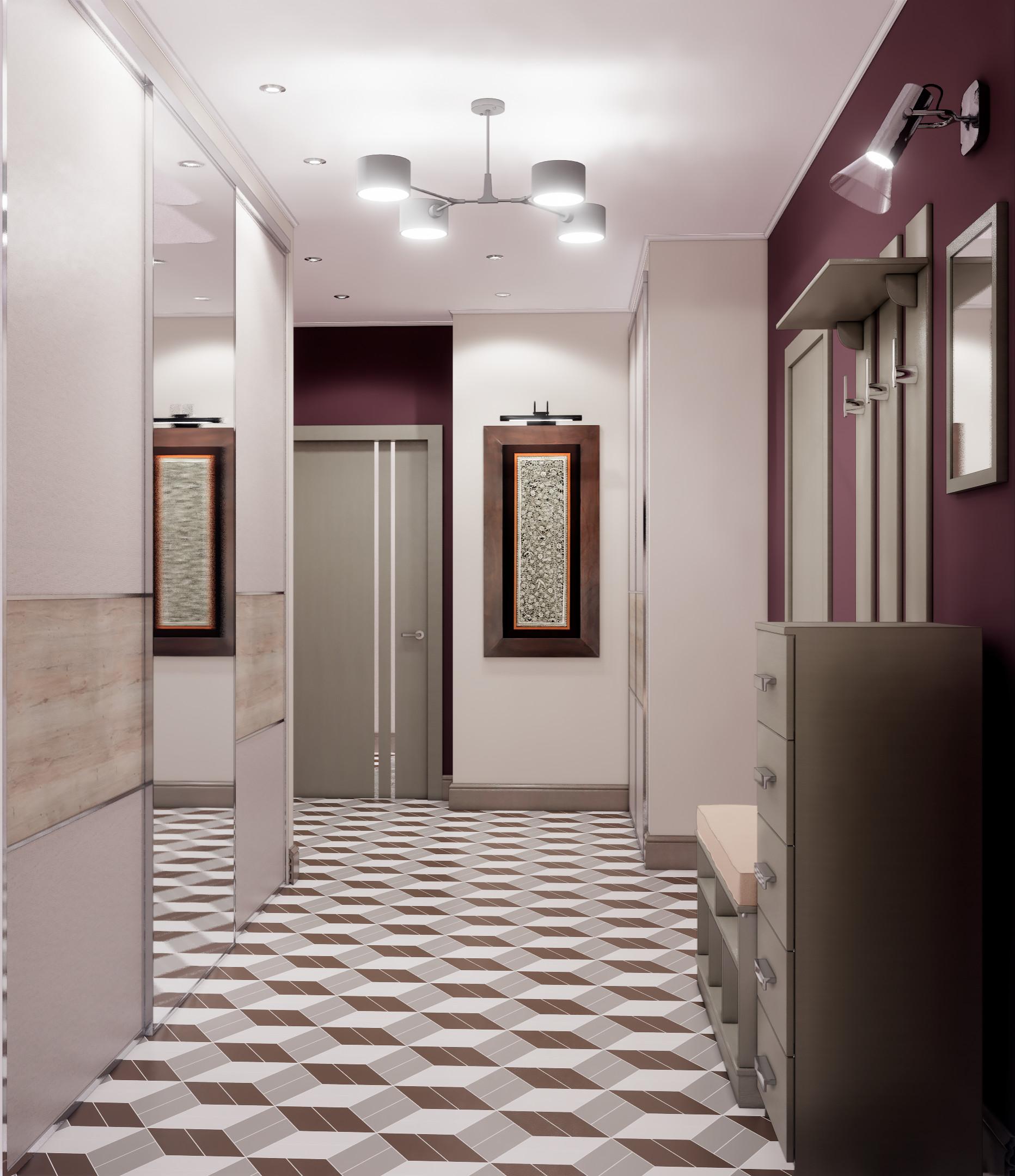 Двухкомнатная квартира в современном стиле в Реутове, 2020