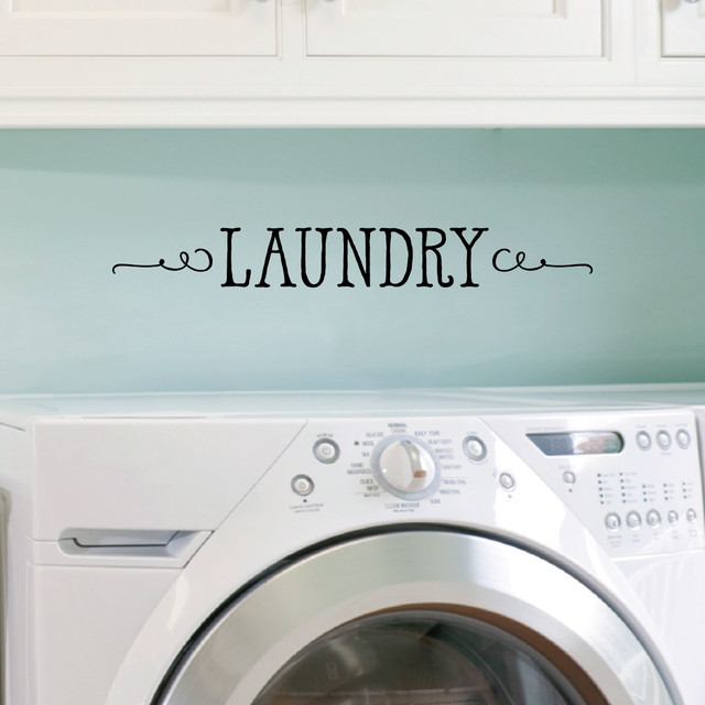 Harman Laundry Room Label Wall Quotes Decal Contemporary