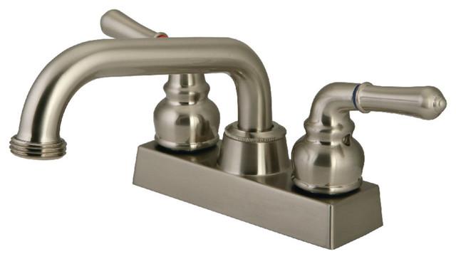 Kingston Brass KB2471FL Laundry Faucet, Polished Chrome