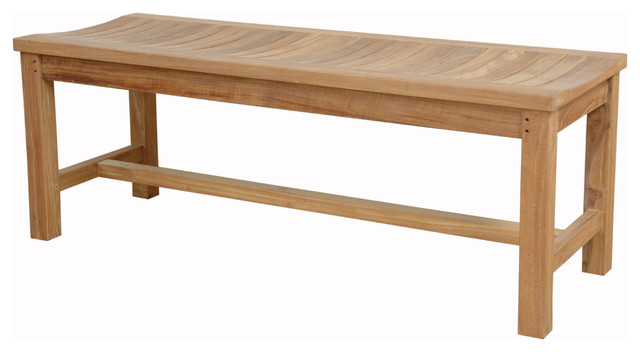 """Madison 48"""" Backless Bench"""