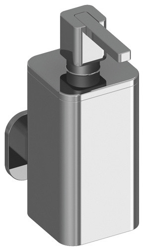 Deva 3132 Chrome Wall Mounted Soap Dispenser Contemporary And Lotion Dispensers