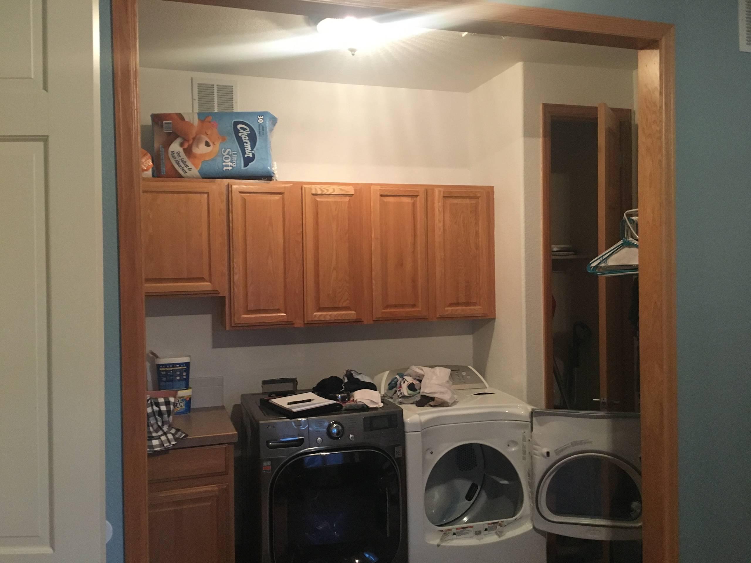 Calm Laundry/Mudroom