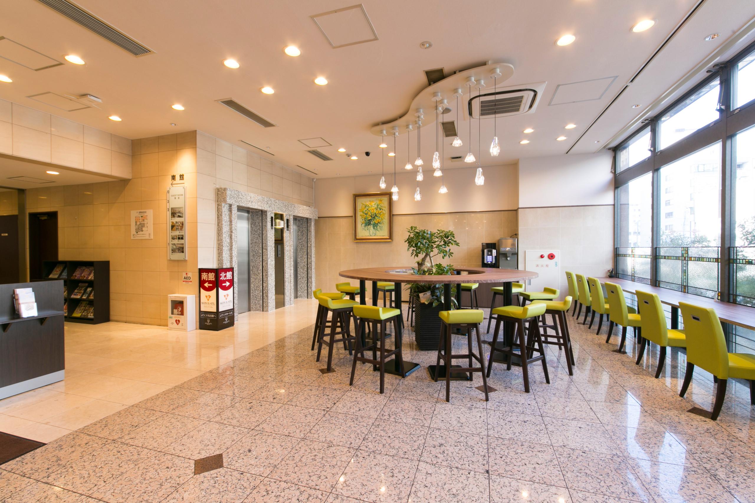 名古屋ビーズホテル 1階メインロビー