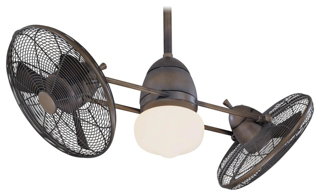 Minka Aire Gyro Restoration Bronze 42 Ceiling Fan.
