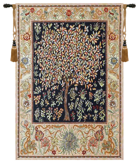 Pastel Tree of Life - Traditional - Tapestries - by ...