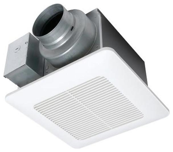 Panasonic 50-80-110 Cfm Ceiling Mount Bathroom Exhaust Fan, Fv-0511vq1.