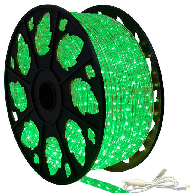 120v dimmable led true green rope light 150 39 kit modern outdoor rope and string lights by. Black Bedroom Furniture Sets. Home Design Ideas