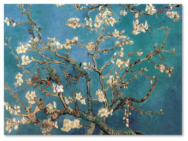 &x27;almond Blossoms&x27; Canvas Art By Vincent Van Gogh.