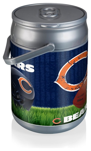 Chicago Bears Can Cooler, Football Design.