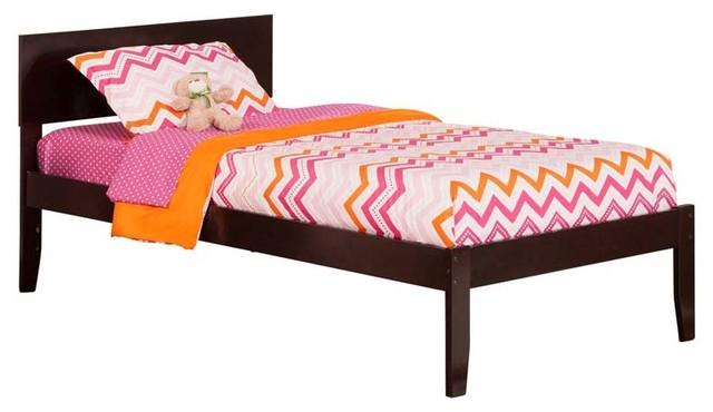 Orlando Open Foot Bed, Espresso, Twin