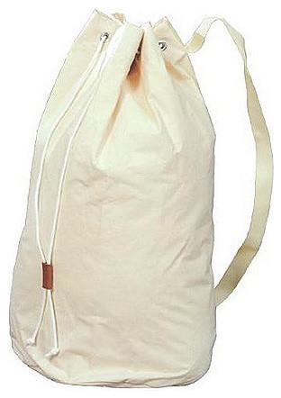 Canvas Duffle Bag.