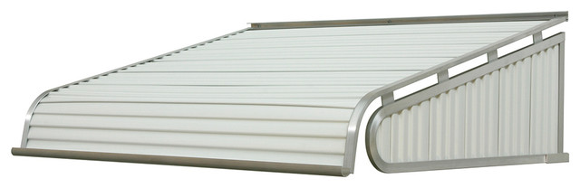 "1500 Series Aluminum Door Canopy 60""x48"" Projection, White."