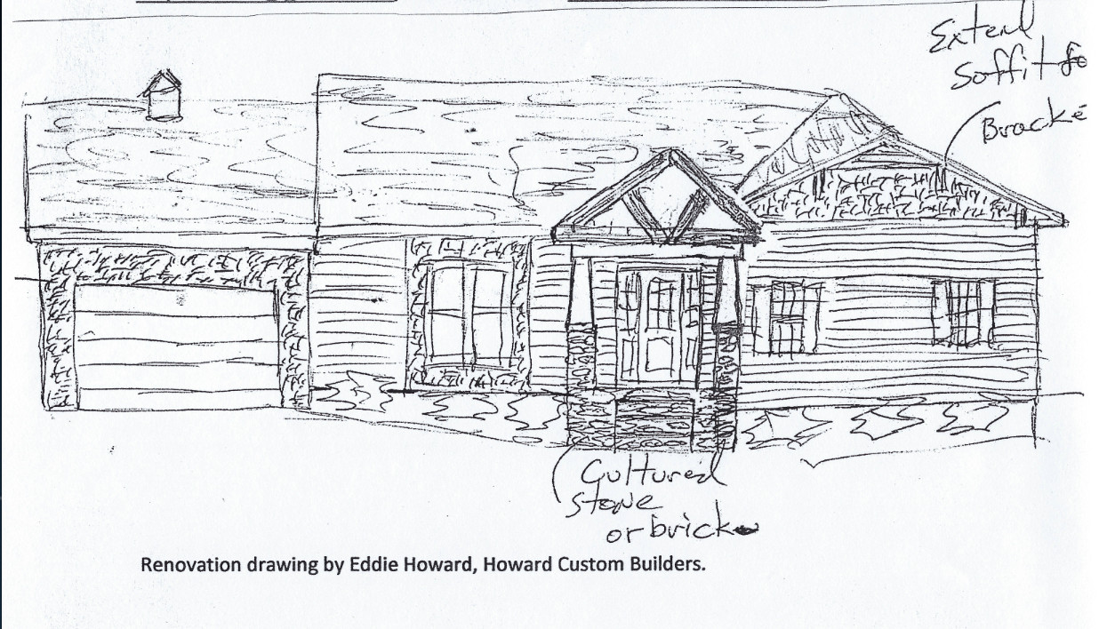 Meyers Drive 1960's Proposed Sketch