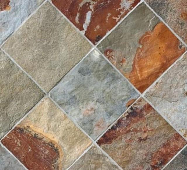 Florence Fireplace Slate Tile Traditional Wall And