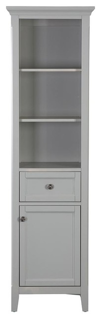 Auguste Linen Cabinet, Gray.