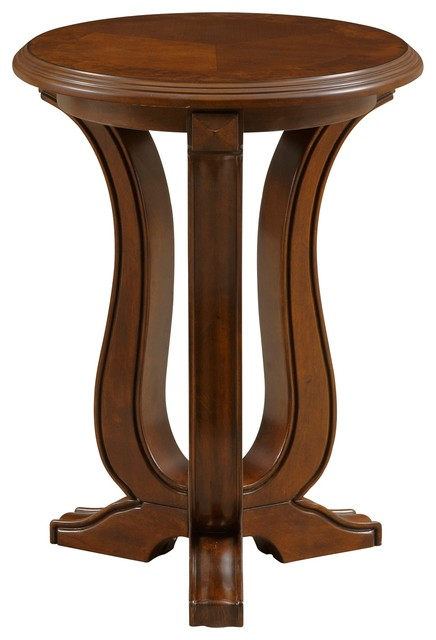 Broyhill Lana Round Chairside Table Transitional Side Tables And End Tables By Broyhill