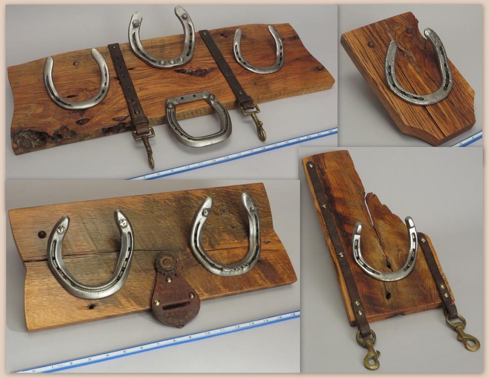 HorseShoe Racks for Apparel, Etc.