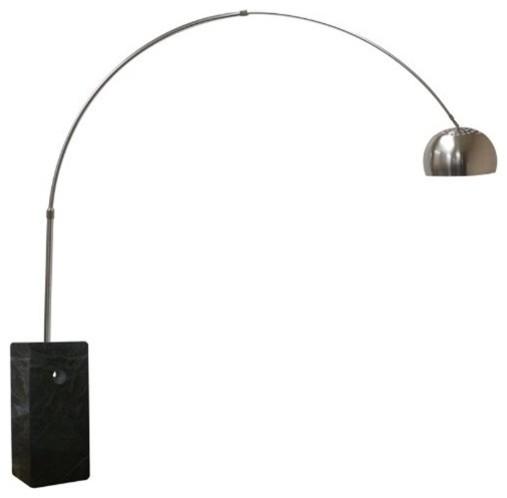 Fine Mod Imports  Arch Lamp Big Base, Black