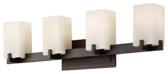 Feiss 4-Light Vanity Fixture, Oil Rubbed Bronze