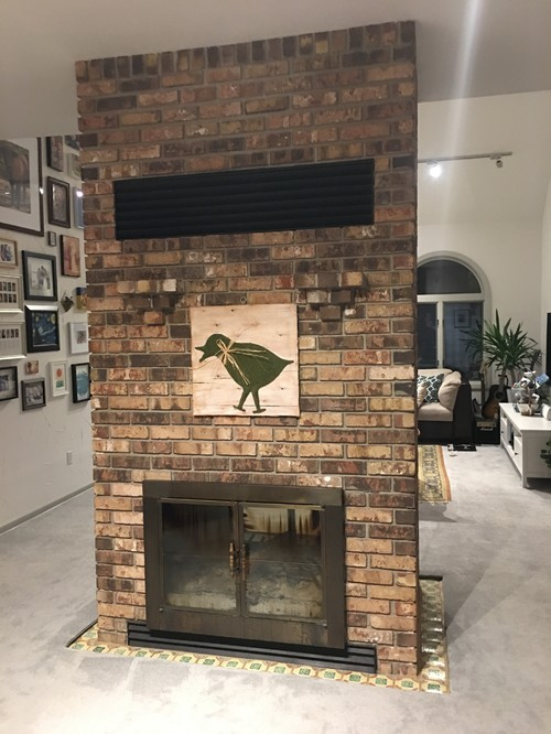 What To Do With Large Two Sided Fireplace In Middle Of