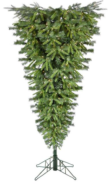 Upside Down Christmas Tree Tradition.5 Canyon Pine Upside Down Christmas Tree With Smart String Lights