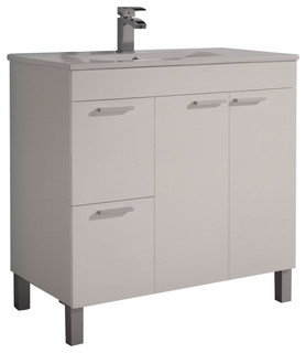 Aktiva 80 Bathroom Vanity Unit - Contemporary - Bathroom ...
