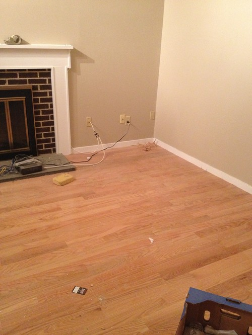 Should hardwood floors match throughout house thefloors co for Hardwood floors throughout