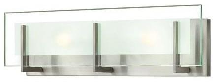 Hinkley Latitude 2-Light Brushed Nickel Vanity