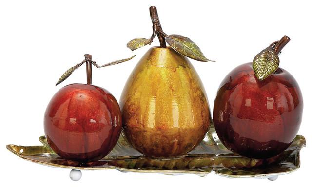 Metal Fruit Decor