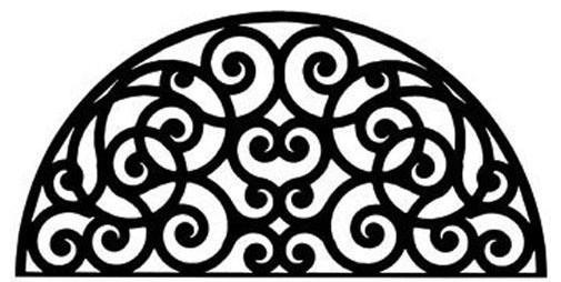 Wrought Iron Wall Decor Style 198