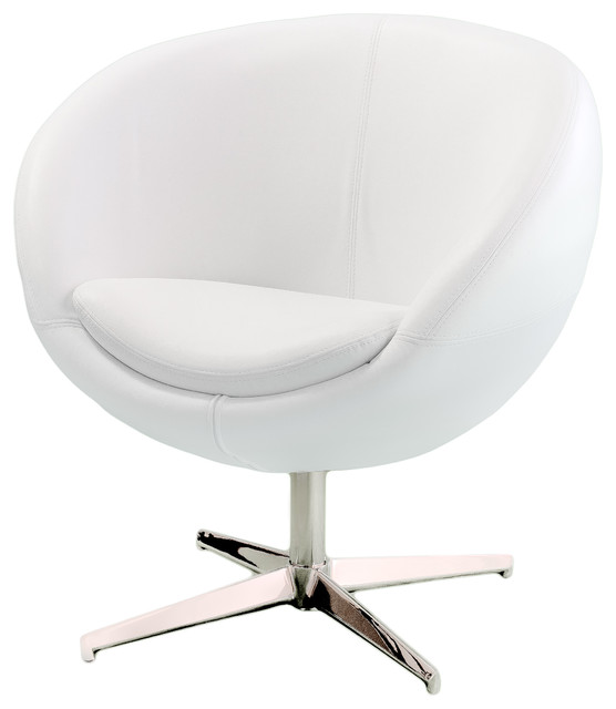 Sphera Accent Chair White Modern Armchairs And Accent