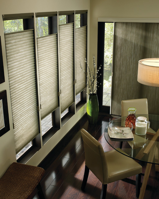 Hunter Douglas Applause® Honeycombs with Top Down Bottom Up - Saint Louis, Mo modern-cellular-shades