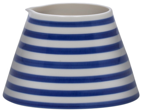 Anne Black Stripes Jug, Wide Stripes, Small