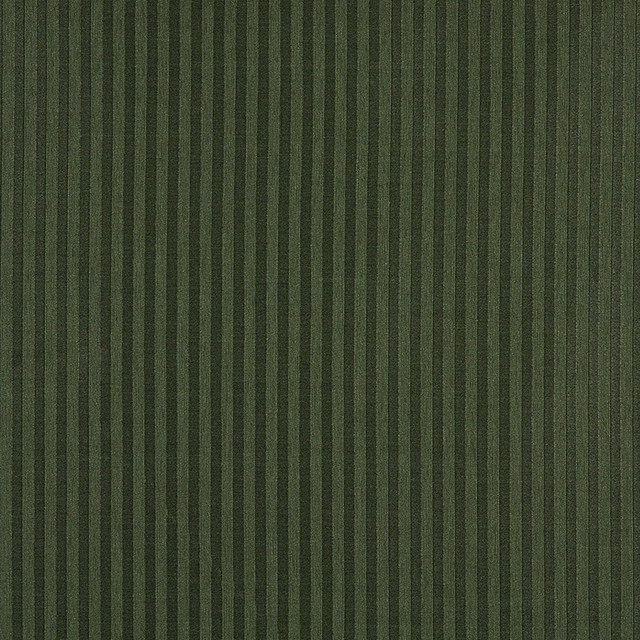 Dark Green Two Toned Stripe Upholstery Fabric By The