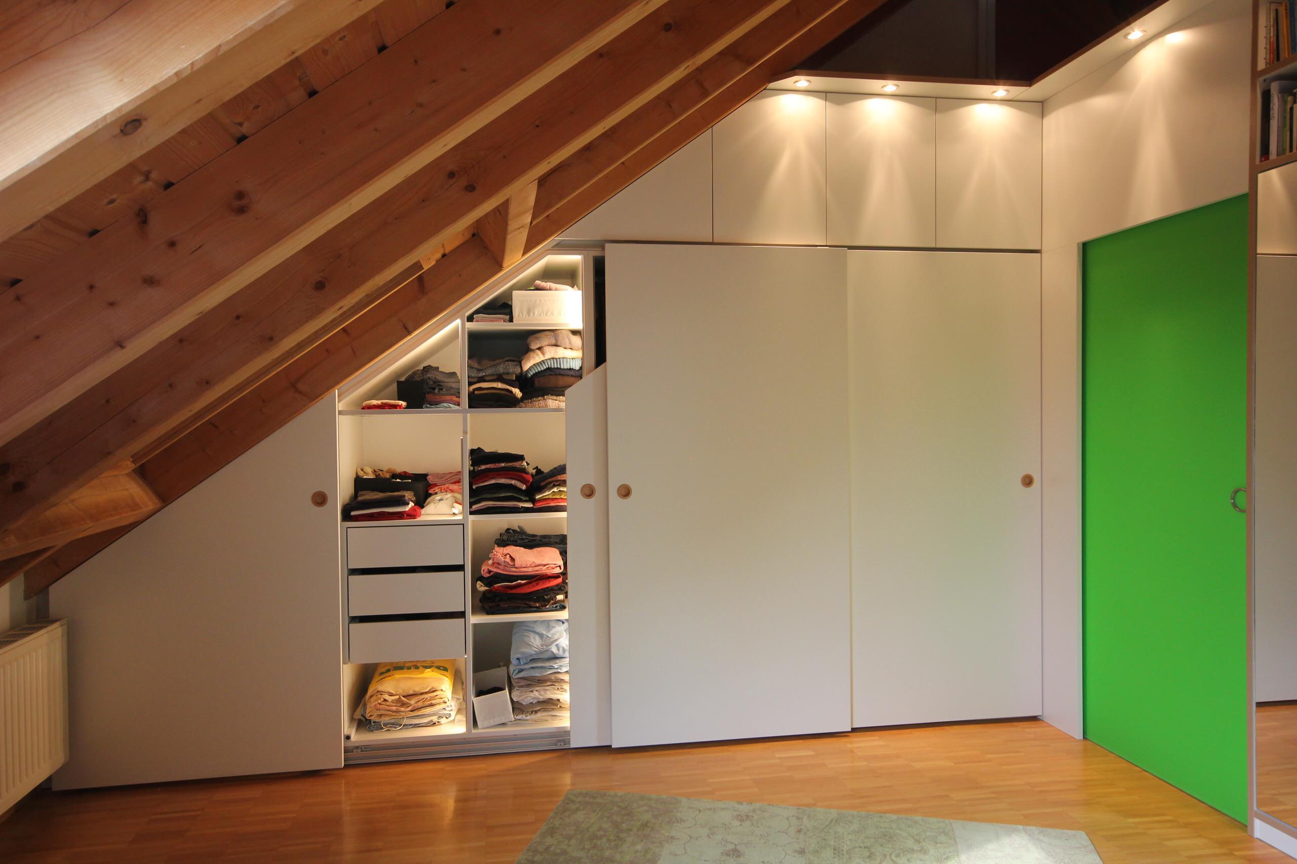 Dachgeschoss - Einbauten