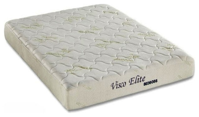 Bed boss bed boss 8quot elite memory foam mattress for Bed boss reviews