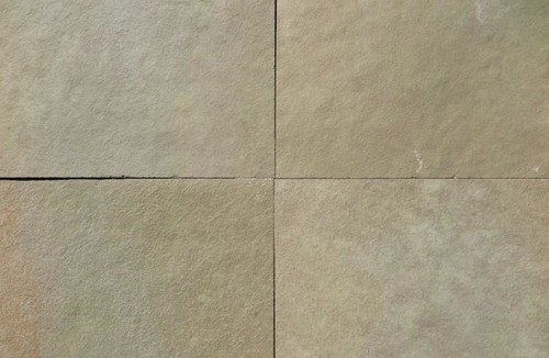"Kota Brown Limestone Tiles, Natural Cleft Face/Back Finish, 12""x12"", Set of 80"