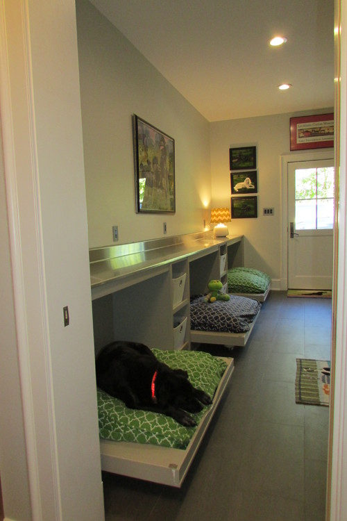 8 Revamped Laundry Rooms That Make Room For Fido The Bark