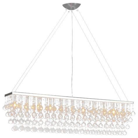 Chandelier with crystal modern rain drop billiard pool table light chandelier with crystal modern rain drop billiard pool table light aloadofball Choice Image