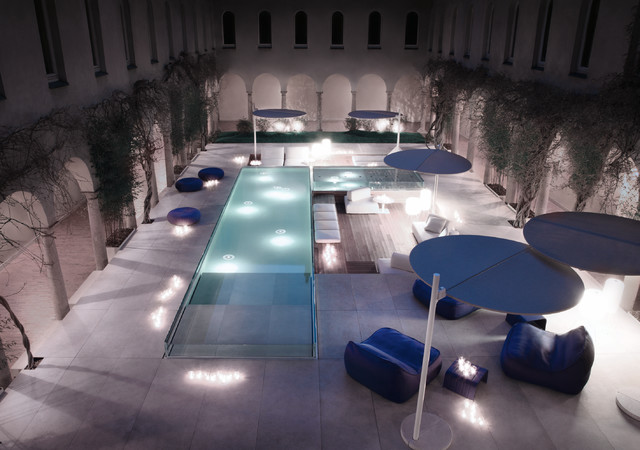 Paola lenti for Piscine laghetto