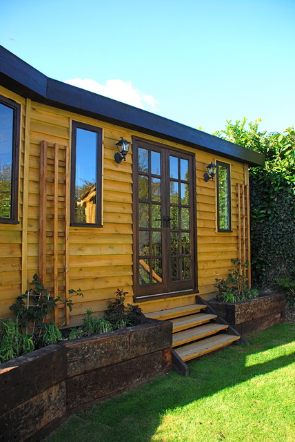 Garden Office Sussex By Miniature Manors