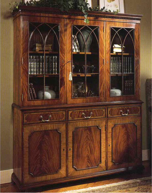 walnut kitchen cabinet wakefield display cabinet traditional 3341