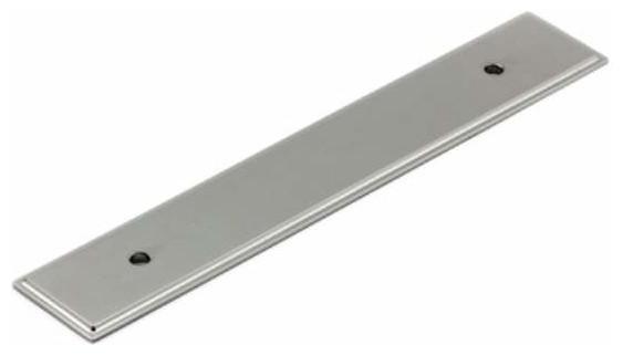 Shop Houzz | Richelieu Hardware Richelieu Rectangular Metal Pull Backplate 128mm Antique English ...