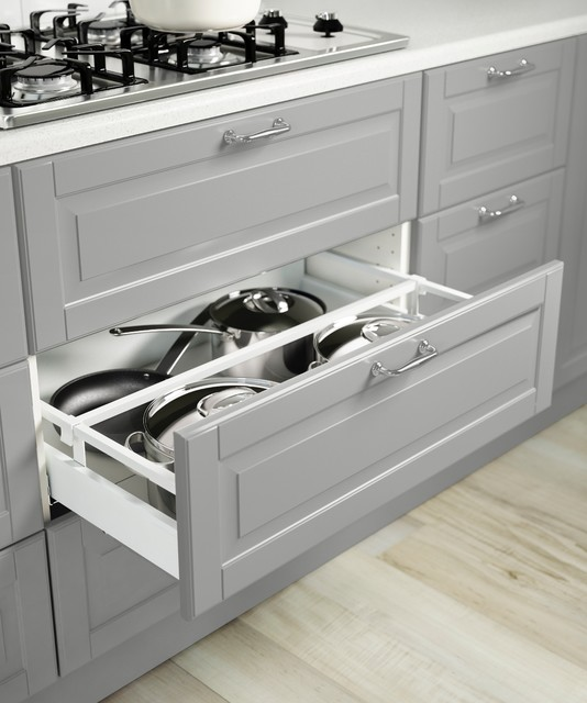 SEKTION/BODBYN/MAXIMERA 3 drawer base cabinet for cooktop