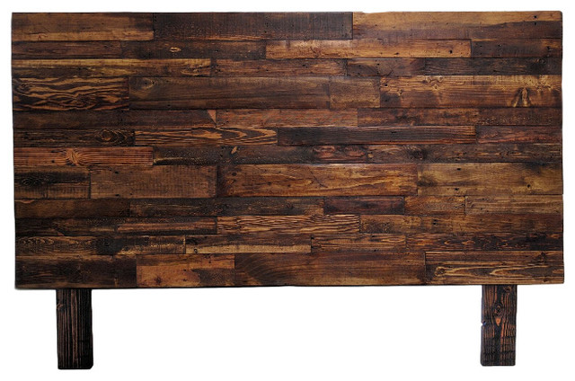 Reclaimed Wood Provincial Headboard Twin Headboards