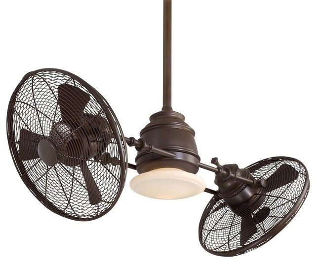 Minka-Aire Gyro Ceiling Fan, Oil Rubbed Bronze.